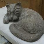 Скульптура сделана из цемента №3