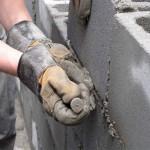Заделка швов при помощи водостойкоого цемента