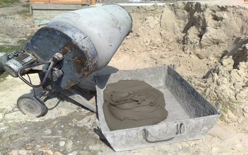 как работать с цементом