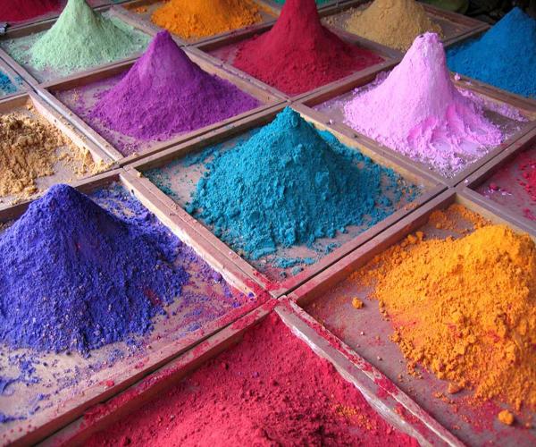 как выглядит цветной цемент
