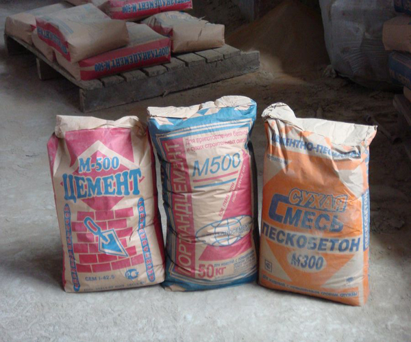 марки цемента для приготовления раствора
