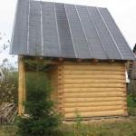 Укладка рубероида на скатную крышу