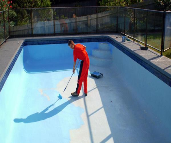 как обмазывают мастикой бассейн