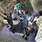11 3D принтеров могут напечатать павильон 3*6 на 3*6 и высотой 2,7 метра за 28 дней