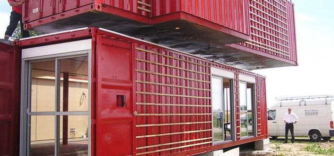 Как грузовой контейнер превращаеться в полноценное жилье
