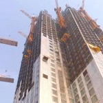 Отказавшись от бетонного каркаса, в Китае возвели 57-этажное здание за 19 дней