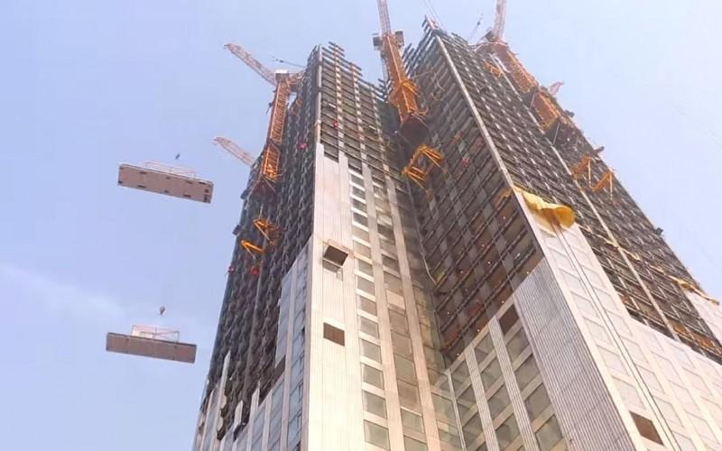 Как в Китае построили дом за 19 дней