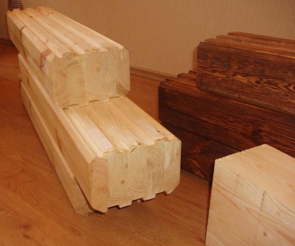 как выглядит клееная древесина