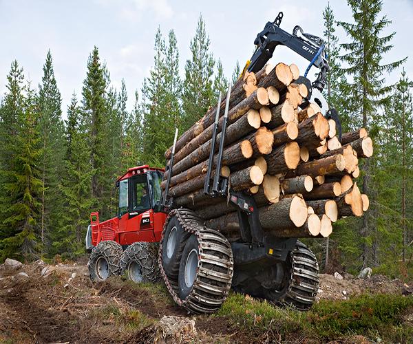 техника применяемая для трелевки и транспортировки древесины
