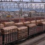 железнодорожная транспортировка древесины