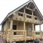 Дом из кедра №2