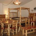 Как выглядит набор мебели из кедра