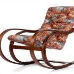 Кресло-качалка из гнутой древесины