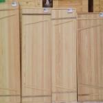 Образцы дверей для бани из осины