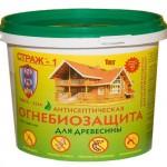Огнебиозащита для древесины Страж-1