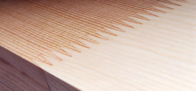 как выглядит сращивание древесины