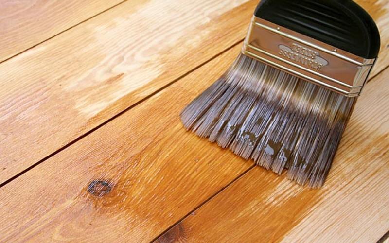 Огнеупорная обработка древесины жидким стеклом