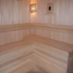 как выглядит баня в русском стиле из лиственницы