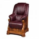как выглядит кресло из массива дуба