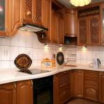 как выглядит кухня из бука