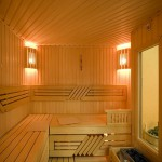 как выглядит парилка в бане из древесины липы