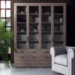 как выглядит шкаф из древесины ясеня