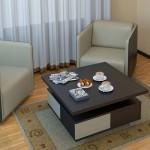 как выглядит стол для гостинной из дсп