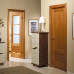 как выглядят двери из массива сосны