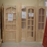 как выглядят двери из сосны