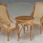 как выглядят кресла и стол из березы