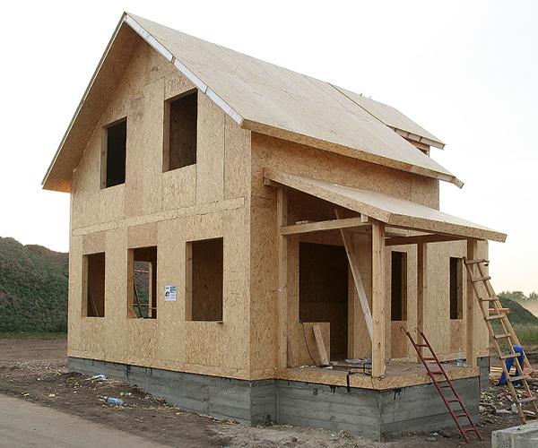 Как сделать дом из осб