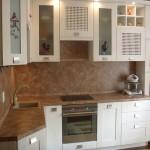как выглядит кухня отделанная панелями мдф