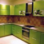как выглядит кухонный фасад из мдф