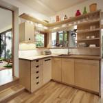как выглядит кухонный гарнитур из фанеры