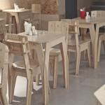 как выглядит мебель из фанеры для бара