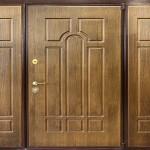 как выглядят двери из фанеры