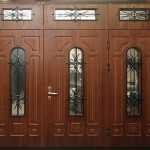 как выглядят фанерные двери