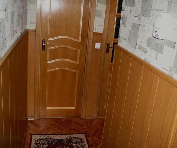 Ремонт кухни панелями своими руками 63