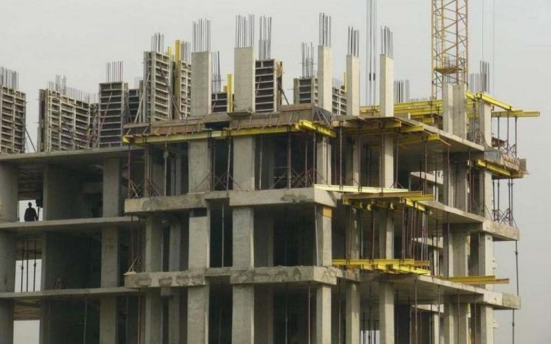 Gradnja monolitnega okvirja stavbe