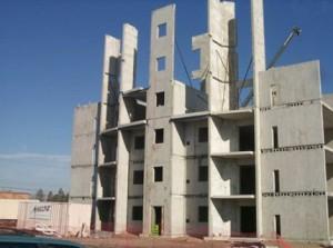 монтаж одноэтажных зданий из сборного железобетона