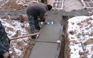 бетон с противоморозными добавками процесс