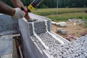 как выровнять стены из керамзитобетона своими руками