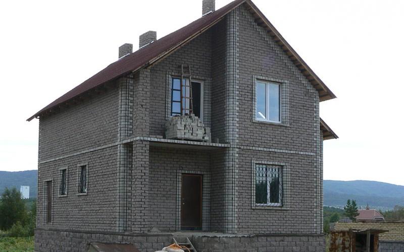 проект дома из керамзитоблоков