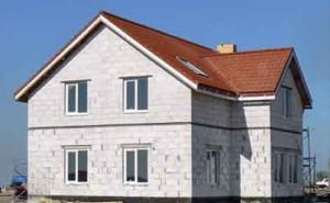 ячеистый бетон строительство дома