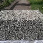 Состав «древесного» бетона арболита: органическая и неорганическая части