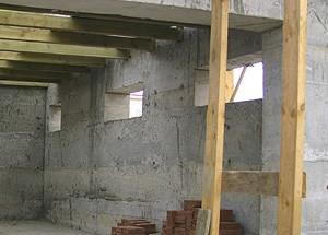 монолитный пенобетон стены