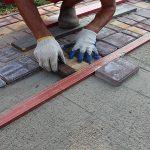Раствор для укладки тротуарной плитки: секреты приготовления в домашних условиях