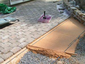 раствор для укладки тротуарной плитки пропорции рецепт
