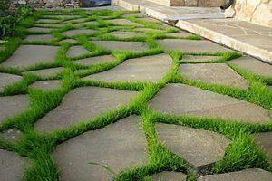 раствор для садовой дорожки пропорции