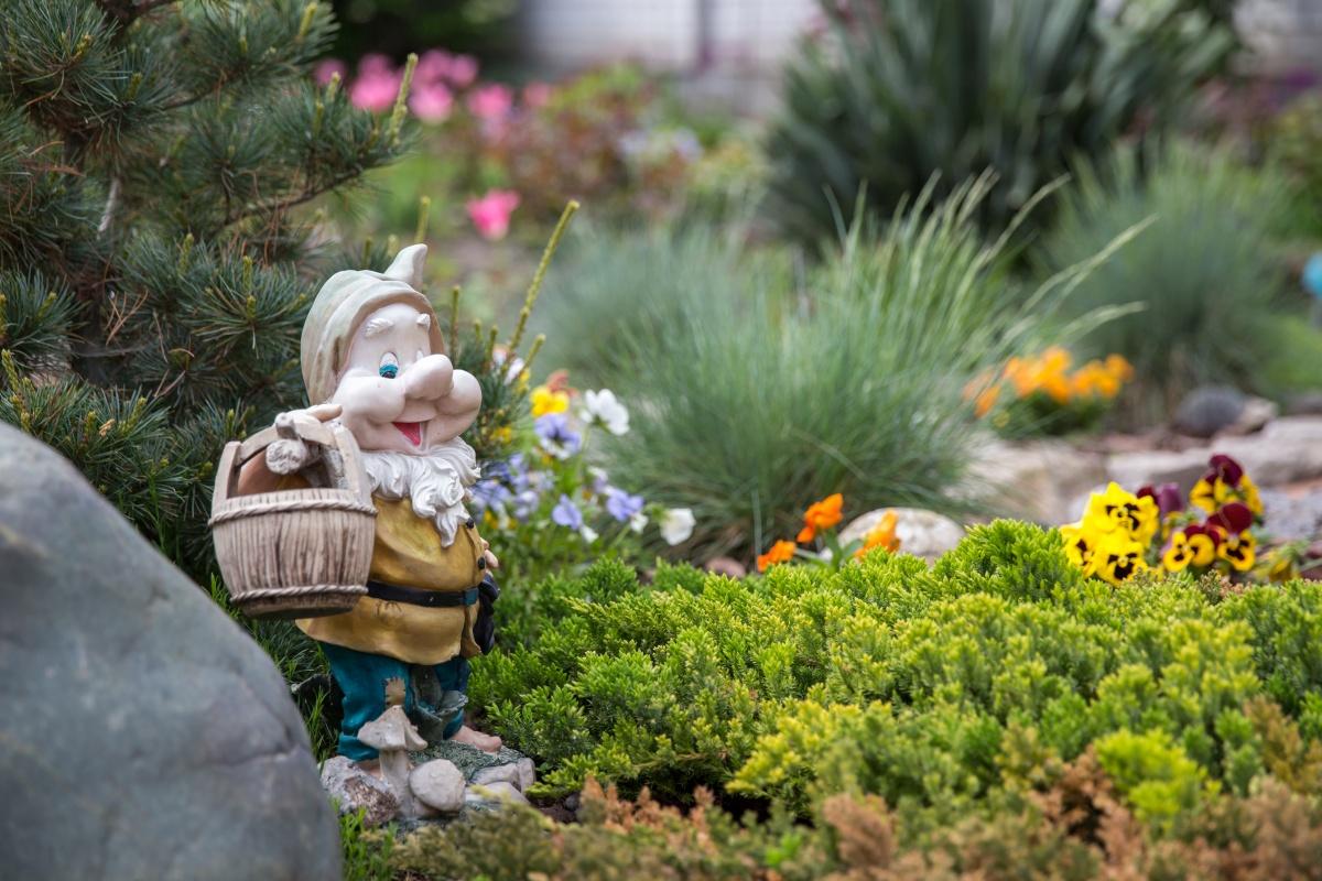 Реставрация садовых фигурок своими руками фото 950
